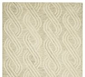 Pottery Barn Boden Hand Tufted Textured Wool Rug