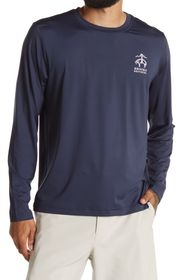 BROOKS BROTHERS Graphic Long Sleeve T-Shirt