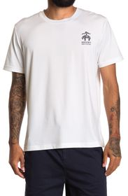 BROOKS BROTHERS Chest Graphic Short Sleeve T-Shirt