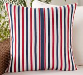 Pottery Barn Milly Striped Indoor/Outdoor Pillow
