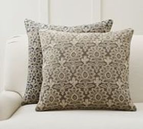 Pottery Barn Brett Embroidered Pillow Covers