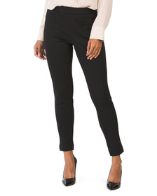 Pull On Front Seamed Pants