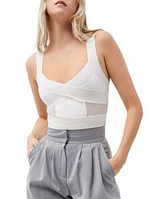 FRENCH CONNECTION - Tella Cropped Tank Top