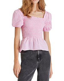 FRENCH CONNECTION - Artina Gingham Top