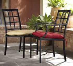 Pottery Barn Riviera Metal Dining & Armchairs