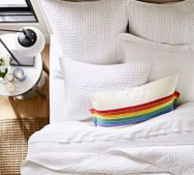 Pottery Barn Pride Pick-Stitch Quilt & Shams to Be