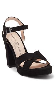 CHINESE LAUNDRY Always Ankle Strap Block Heel Plat