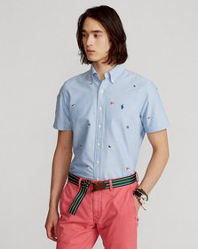 Ralph Lauren Classic Fit Embroidered Oxford Shirt