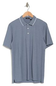 THEORY Button Front Polo