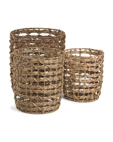 Cross Weave Storage Collection