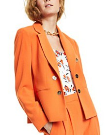 Faux Double-Breasted Blazer, Created for Macy's