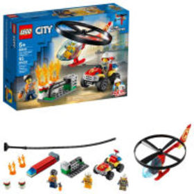Title: LEGO City Fire Fire Helicopter Response 602