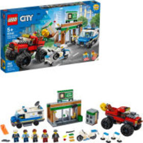 Title: LEGO City Police Police Monster Truck Heist