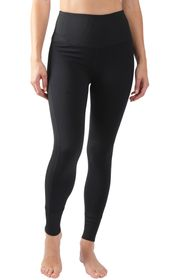 90 DEGREE BY REFLEX High Rise Ribbed Panel Ankle L