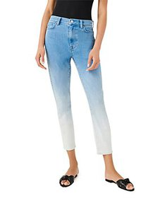 7 For All Mankind - Skinny Ankle Jeans in Ombré Su