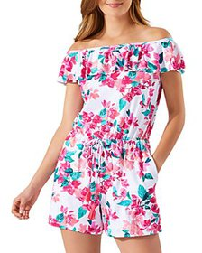Tommy Bahama - Bougainvillea Off-the-Shoulder Romp