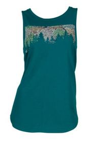 Ascend Floral Graphic Tank Top for Ladies