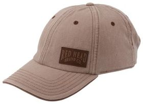 RedHead 6-Panel Woven Patch Cap