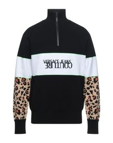 VERSACE JEANS COUTURE - Sweater with zip