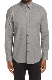 THEORY Irving Slim Fit Gingham Button-Up Shirt