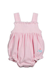 Kissy Kissy Girl's Nomad Narwhals Striped Embroide