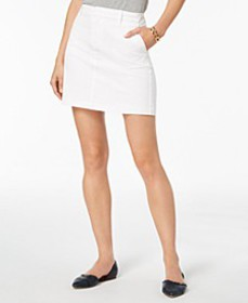 Tommy Hilfiger Twill Mini Skirt, Created for Macy'