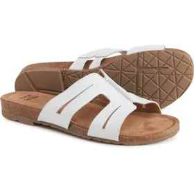 Earth Origins Leah Slide Sandals - Leather (For Wo