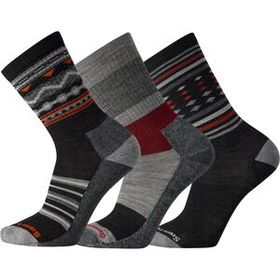 Smartwool SmartwoolEveryday Red Trio Sock - 3-Pack