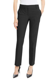 Theory Straight-Leg Traceable Wool Suiting Trouser