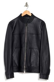 THEORY Fletcher Plover Zip Leather Jacket