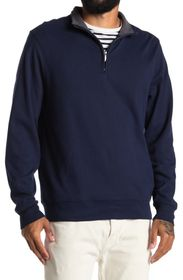 BROOKS BROTHERS Oxford Half-Zip Pullover Sweater