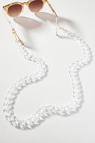 Anthropologie Clear Sunglasses Chain
