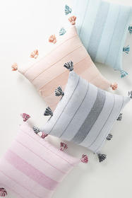 Anthropologie Woven Indie Pillow