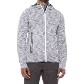 Ortovox Space-Dyed Fleece Hoodie (For Men) in Grey