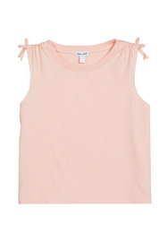 Splendid Girl's Solid Cotton-Blend Ruched Tank Top