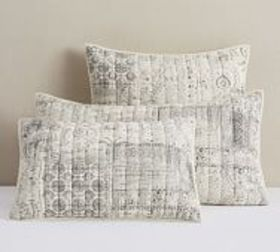Pottery Barn Sedona Handcrafted Cotton Quilted Sha