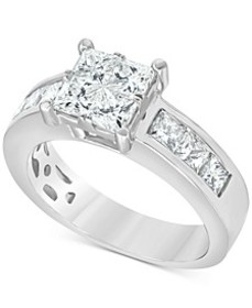 Diamond Princess Engagement Ring (2 ct. t.w.) in 1