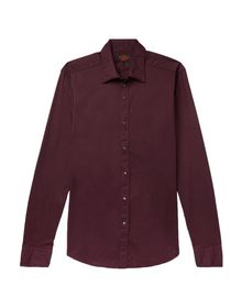 TOD'S - Solid color shirt