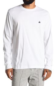 BROOKS BROTHERS Long Sleeve Cotton T-Shirt
