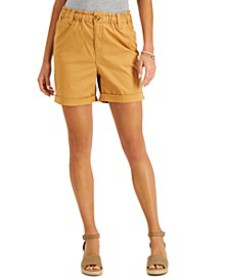 Mid-Rise Cuffed Shorts, Created for Macy's