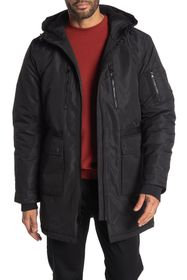 SLATE AND STONE Hooded Down Parka