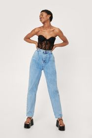 Nasty Gal Wash Your Words High-Waisted Mom Jeans