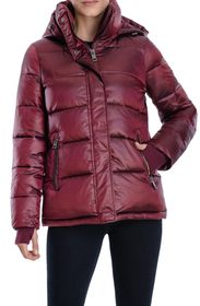 MICHAEL KORS Hooded Quilted Puffer Jacket