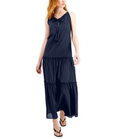 Tiered Halter Maxi Dress, Created for Macy's