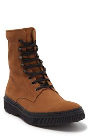 TODS Tod's Stivaletto Leather Lace-Up Boot (Men)