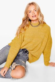 Nasty Gal Soft Oversized Knitted Sweater