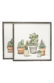 MARMONT HILL 5 Cactus Wall Art