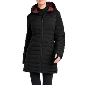 Womens HFX 32in. Stretch Puffer Walker with Hood