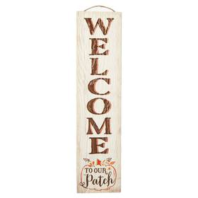 My Word Stand Out Welcome to Our Patch Porch Board