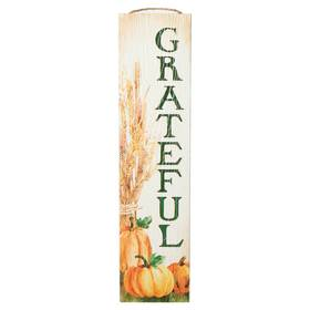 My Word Stand Out Grateful Porch Board